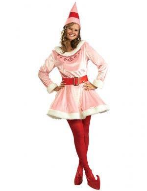 Womens Elf Movie Pink Jovie Costume