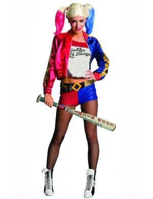 Harley Quinn Inflatable Bat Costume Accessory Main Image