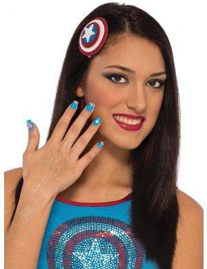 Captain American Women's Makeup Kit - Main Image