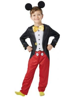Boys Mickey Mouse Book Week Costume Main Image