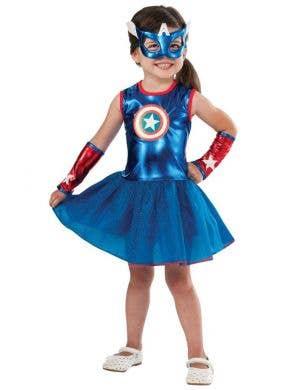 American Dream Girls Fancy Dress Costume