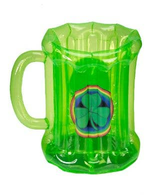 Green Inflatable Beer Stein Novelty Cooler St Patrick's Day
