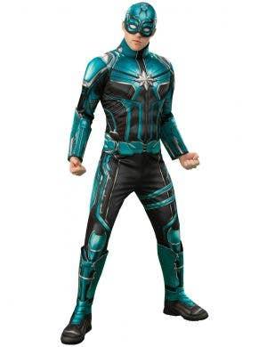 Captain Marvel Starforce Men's Kree Superhero Costume