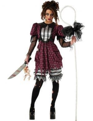 Haunted Little Bo Beep Women's Halloween Dress Up Costume