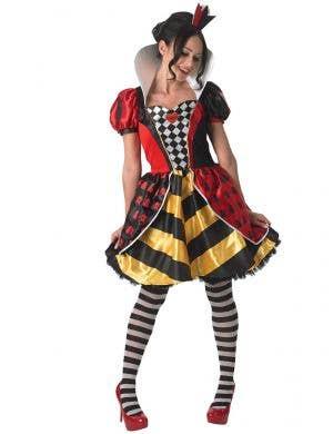 Mad Queen Of Hearts Women's Disney Costume