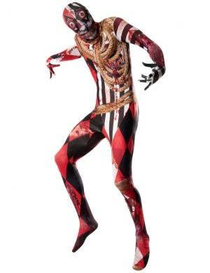 Men's Bloody Trapeze Artist Halloween Dress Up Costume