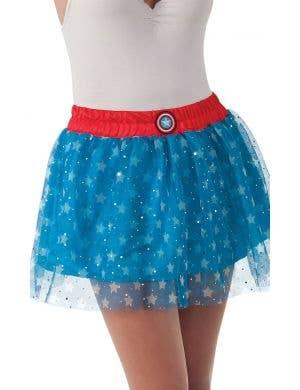 American Dream Women's Captain America Costume Skirt