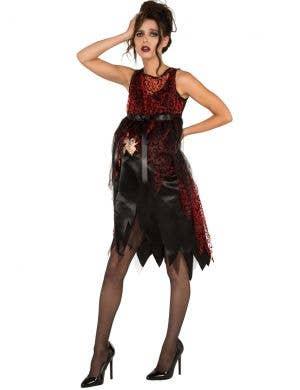 It's Time Women's Horror Pregnant Halloween Costume