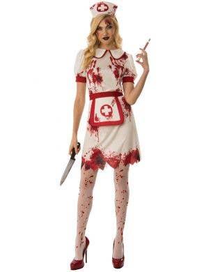 Bloody Nurse Sexy Women's Halloween Costume