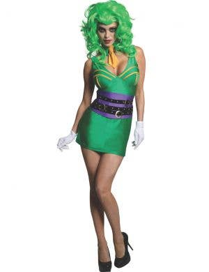 DC Comics The Joker Women's Fancy Dress Costume
