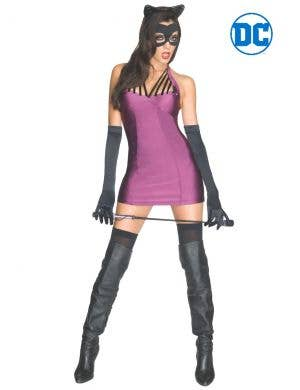 Sexy Catwoman Women's DC Comics Dress Up Costume Main Image