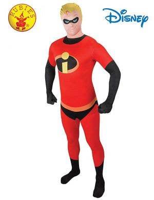 Men's Mr Incredible Second Skin Dress Up Costume Main Image