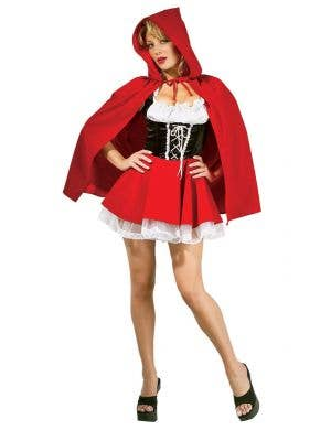 Women's Little Red Riding Hood Sexy Costume Front View