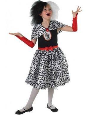 101 Dalmatians - Cruella De Vil Girls Costume