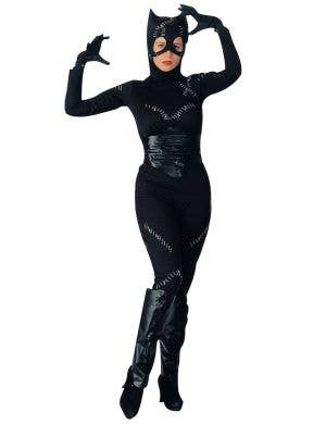 Classic Catwoman Women's Fancy Dress Costume