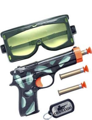 Special Forces Military Gun Kids Costume Accessory Kit
