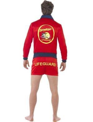Baywatch Men's Deluxe Licensed Lifeguard Costume