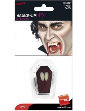 Basic White Vampire Fang Tooth Caps