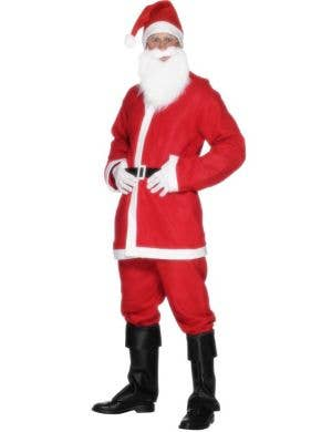 Budget Santa Suit Men's Christmas Costume