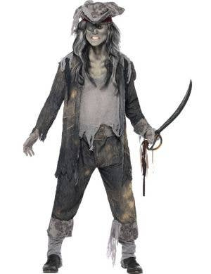 Ghost Ship Pirate Ghoul Men's Halloween Costume