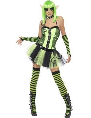 Wild Tainted Garden Elf Women's Halloween Costume