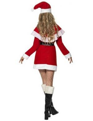 Fleecy Miss Santa Women's Christmas Costume