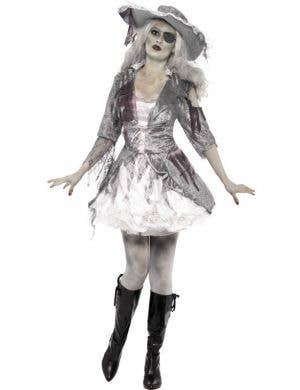 Ghost Ship Treasure Pirate Women's Halloween Costume
