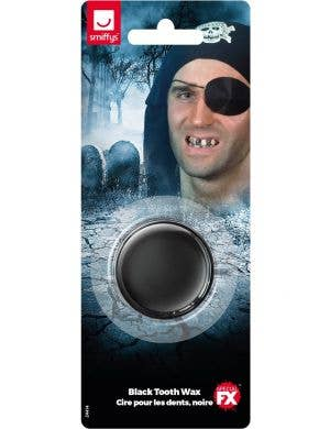 Black Tooth Make-Up FX Wax