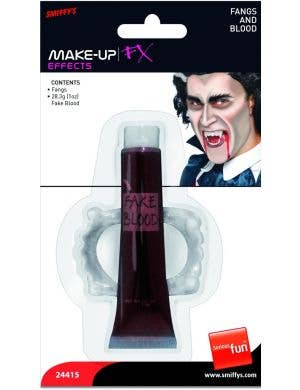 Blood and Fangs Make-up FX Vampire Halloween Kit
