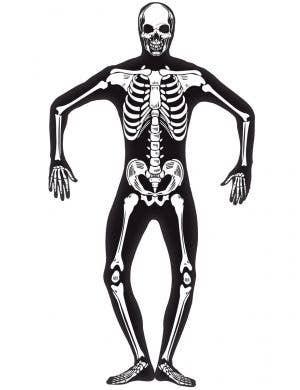 Glow in the Dark Skeleton Skin Suit Men's Halloween Costume