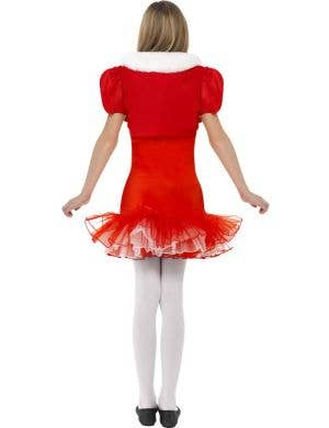 Little Miss Santa Girls Christmas Costume