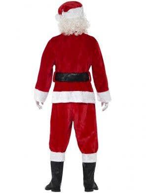 Plush Santa Claus Deluxe Father Christmas Suit