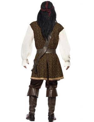 High Seas Pirate Captain Men's Fancy Dress Costume