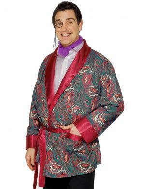 Classy Men's Hugh Hefner Smoking Costume Jacket