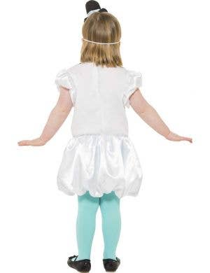 Puffball Snowgirl Children's Christmas Dress Up Costume
