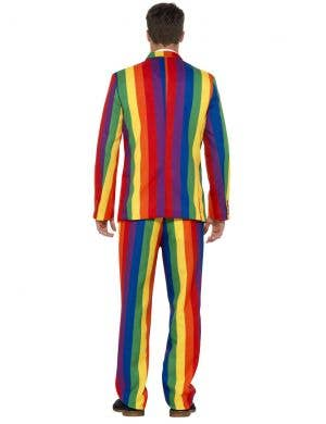 Over The Rainbow Men's Deluxe Stand Out Suit
