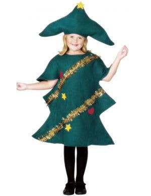 Little Christmas Tree Kids Fancy Dress Costume