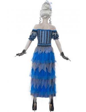 Ghostly Saloon Girl Women's Halloween Costume