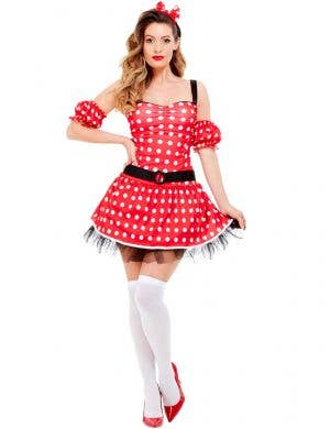 Madame Mouse Sexy Women's Polka Dot Costume