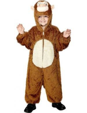 Monkey Onesie Kids Animal Dress Up Costume