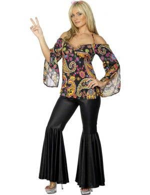 Hippie Chick Women's Plus Size 1970's Costume
