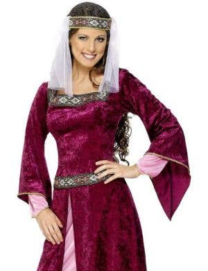 Maid Marion Women's Plus Size Medieval Costume