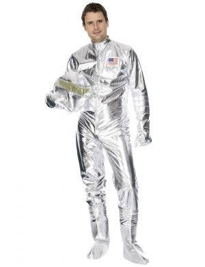 Spaceman Explorer Silver Men's Astronaut Costume