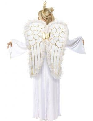 Heavenly White Angel Women's Christmas Costume