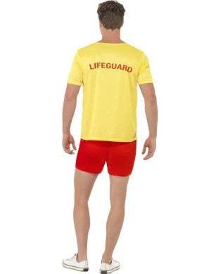 Baywatch Men's Lifeguard Fancy Dress Costume