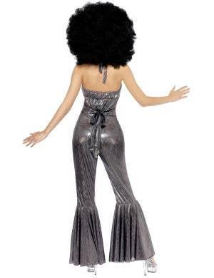 1970's Women's Silver Disco Diva Costume