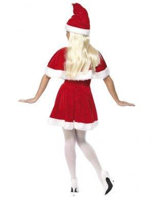 Festive Miss Santa Women's Christmas Fancy Dress Costume