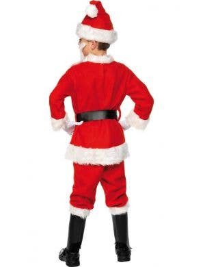 Santa Boy's Christmas Fancy Dress Costume