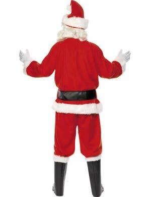 Felt Santa Claus Men's Father Christmas Costume