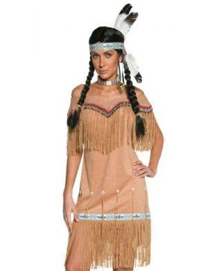 Wild West Indian Lady Women's Costume